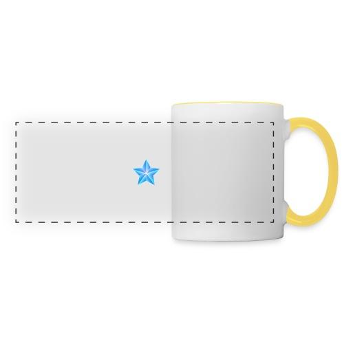 blue themed christmas star 0515 1012 0322 4634 SMU - Panoramic Mug