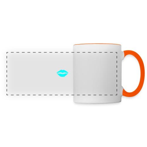 Blue kiss - Panoramic Mug
