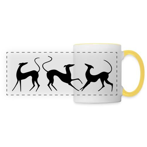 Windhundfries - Panoramatasse