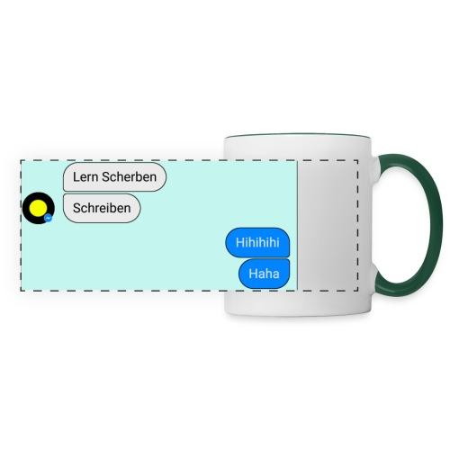 Lern Scherben - Panoramatasse