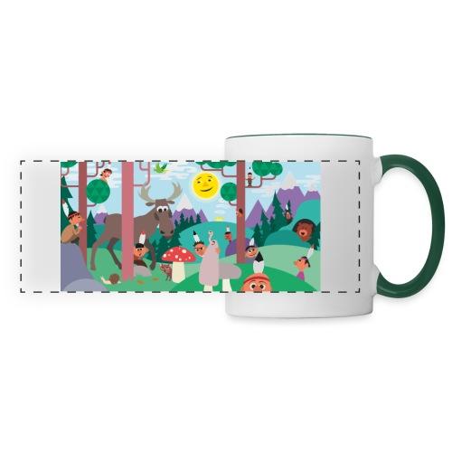 Little Indians jpg - Panoramic Mug