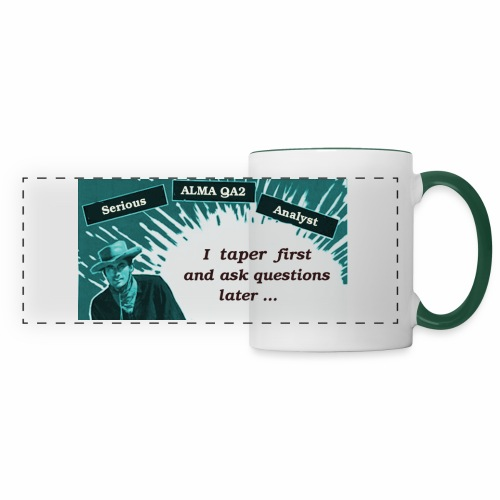 tapering large - Panoramic Mug