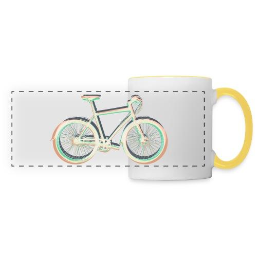 Fahrrad Bike Outdoor Fun Radsport Radtour Freiheit - Panoramic Mug
