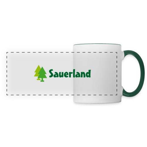 Sauerland -Schriftzug Tannen - Panoramatasse