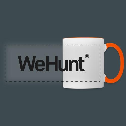 WeHunt - Black - Panoramamugg