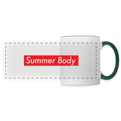 Summer Body - Mug panoramique contrasté et blanc