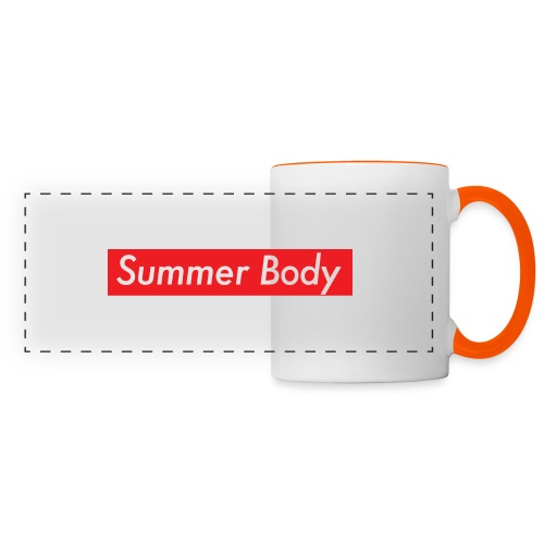 Summer Body - Mug panoramique contrasté et blanc