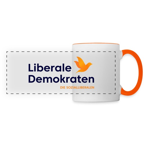 Logo Liberale Demokraten - Panoramatasse