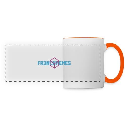 Fr3nchmemes - Mug panoramique contrasté et blanc