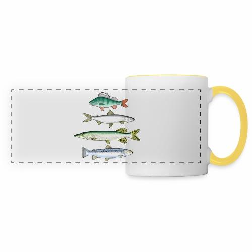 FOUR FISH - Ahven, siika, hauki ja taimen tuotteet - Panoraamamuki