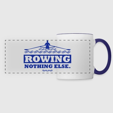 rowing nothing else Rudern Skull Boot Skiff - Panoramamugg
