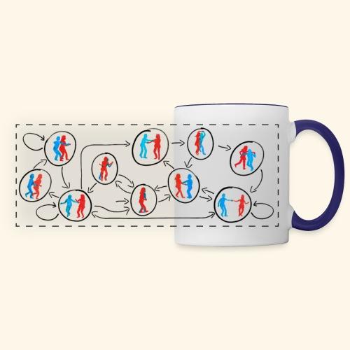 Lindy Hop DFA (Color) - Panoramic Mug