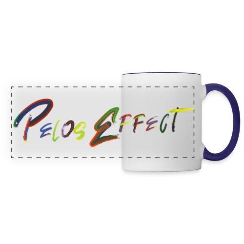 Pélos Effect #2 - Mug panoramique contrasté et blanc