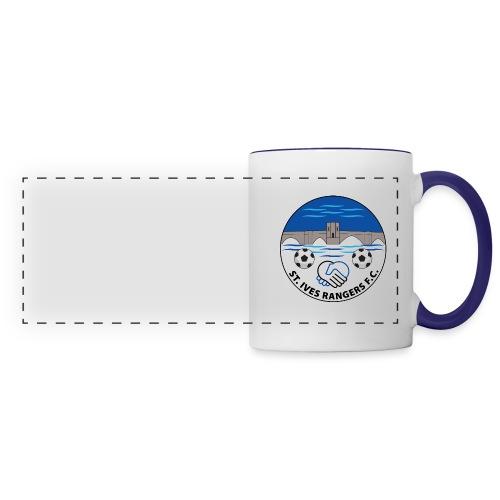 StIves fc badge1FINAL - Panoramic Mug