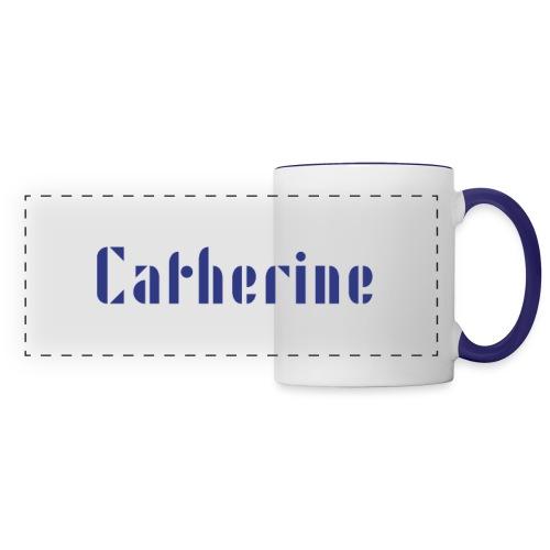 Cath - Mug panoramique contrasté et blanc