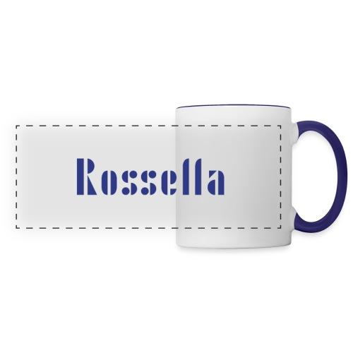 Rossella - Mug panoramique contrasté et blanc