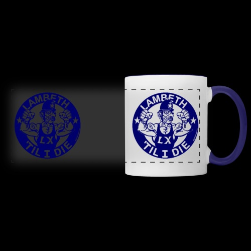 double-sided Bobby police mug design - Panoramic Mug