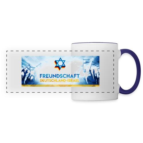 Panoramatasse Freundschaft Deutschland Israel FDI - Panoramatasse