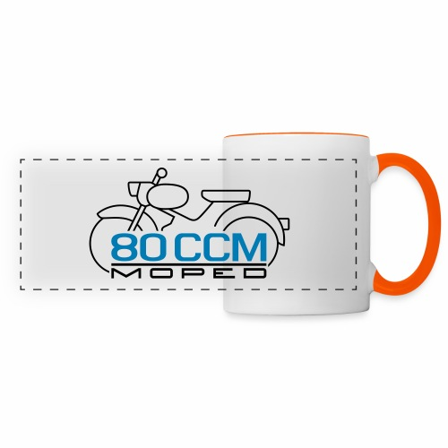 Moped sparrow 80 cc emblem - Panoramic Mug