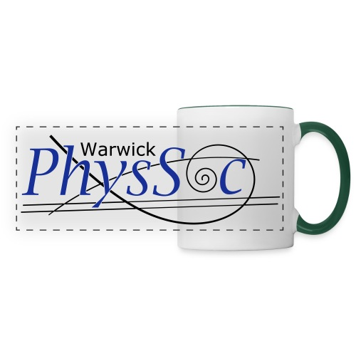 Official Warwick PhysSoc T Shirt - Panoramic Mug