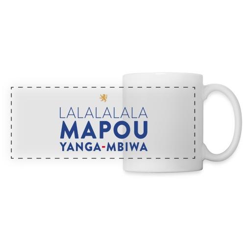 Mapou YANGA-MBIWA - Mug panoramique contrasté et blanc