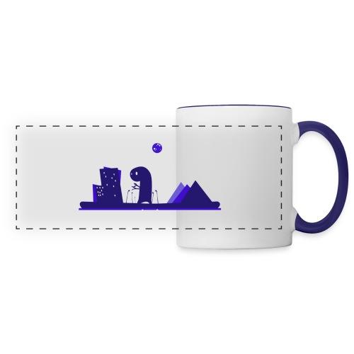 Journal du Rôliste - Mug panoramique contrasté et blanc