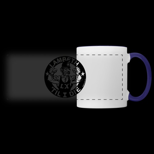 LAMBETH - BLACK - Panoramic Mug