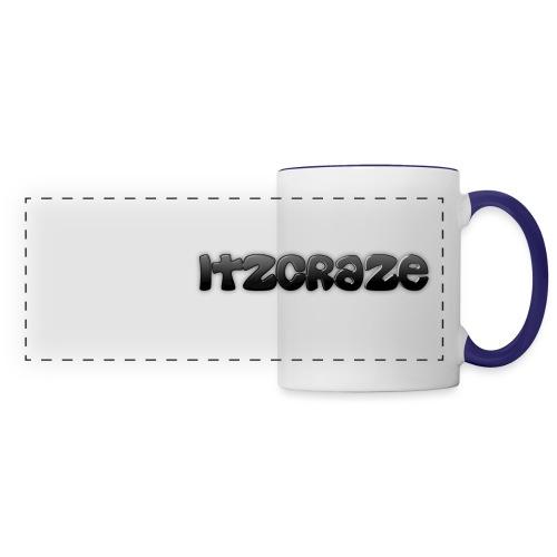 ItzCraze Apparel logo png - Panoramic Mug