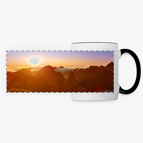 Sunset - Panoramatasse