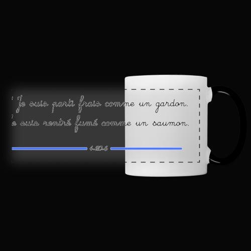 motif 7 jpg - Mug panoramique contrasté et blanc