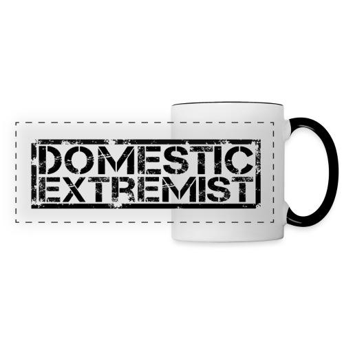phnat domestic5 black on - Panoramic Mug