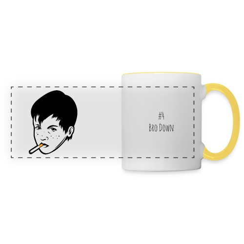 Smoking kid png - Panoramic Mug