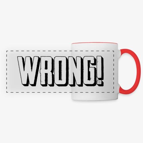wrong logo - Panoramic Mug