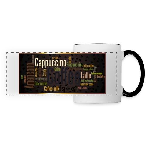 Saveur café - Mug panoramique contrasté et blanc