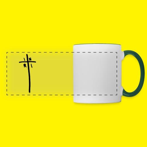 Cross - INRI (Jesus of Nazareth King of Jews) - Panoramic Mug
