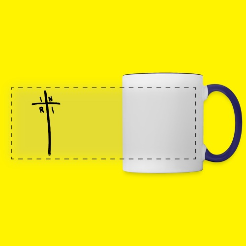 Cross - INRI (Jesus of Nazareth King of Jews) - Panoramic Mug