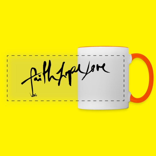 Faith Hope Love - Panoramic Mug