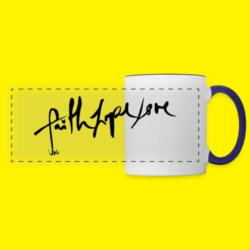Faith Hope Love - Panoramic Mug