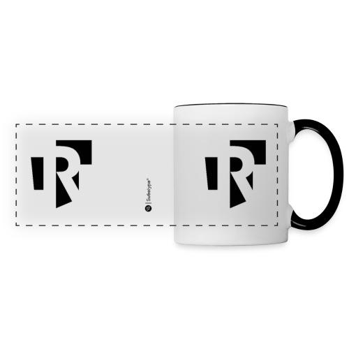 R - Mug panoramique contrasté et blanc