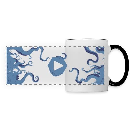 Cthulhu TV - Mug panoramique contrasté et blanc