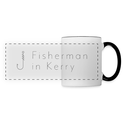 Fisherman in Kerry - Panoramic Mug