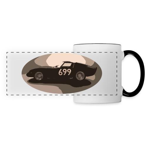 699 auto in stile vintage retrò vecchia corsa classica - Tazza panoramica