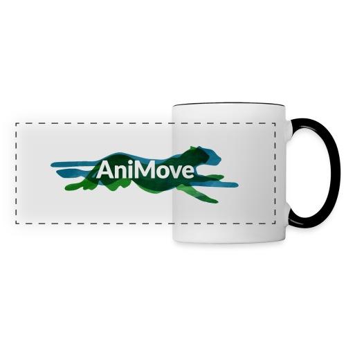 AniMove org logo trans - Panoramic Mug