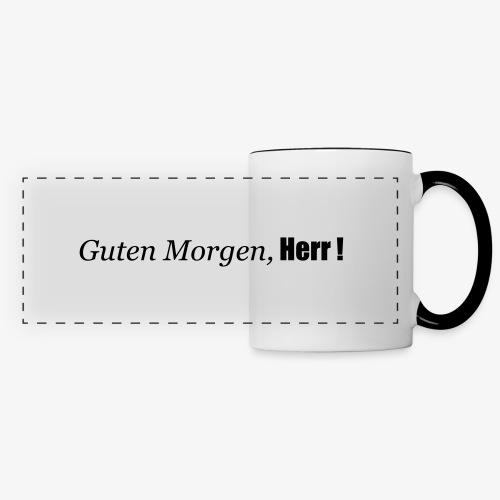 guten_morgen_herr - Panoramatasse