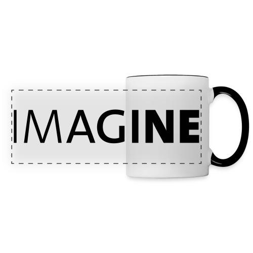 Logo IMAGINE weiß - Panoramatasse