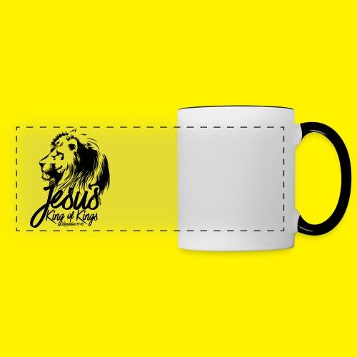 JESUS - KING OF KINGS - Revelations 19:16 - LION - Panoramic Mug
