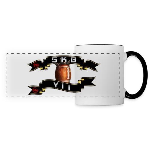 logoskb7 - Mug panoramique contrasté et blanc