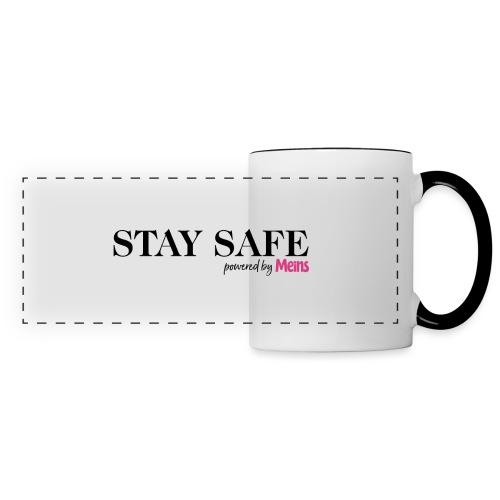 STAY SAFE - Panoramatasse