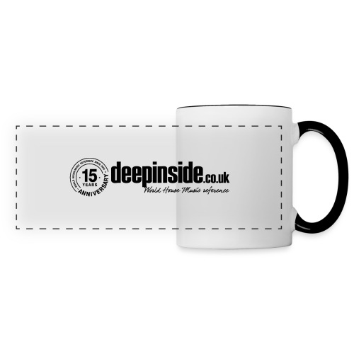 15 years anniversary logo black - Panoramic Mug