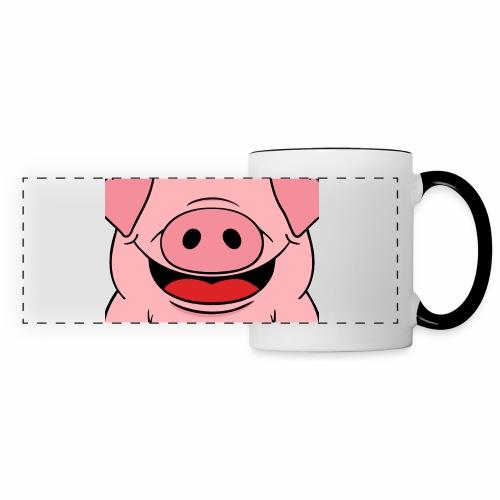 Pig face - Panoramic Mug
